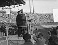 Billy Graham (Amerikaanse evangelist) in Nederland, bijeenkomst in Olympisch Sta, Bestanddeelnr 906-5390.jpg