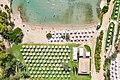 Bird's eye view of AKS Hinitsa Bay private beach in Porto Heli, Greece (48760345272).jpg