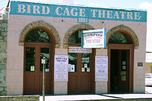 Bird Cage Theatre - Image: Birdcage Theater