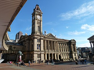Birmingham Museum and Art Gallery - Image: Birmingham Museum and Art Gallery from the Central Library