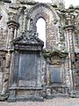 Bishop Wishart Monument, Holyrood Abbey nave.jpg