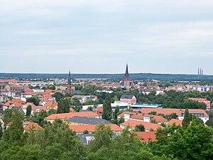 Bitterfeld - Bitterfeld view
