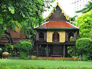 Suan Pakkad Palace museum in Bangkok, Thailand