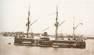 Earle's Shipbuilding - Chilean ironclad Blanco Encalada (1875)