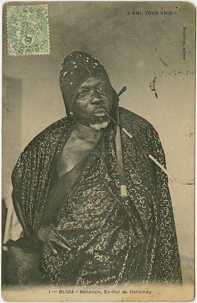 File:Blida [Algeria) - Béhanzin, former King of Dahomey.jpg