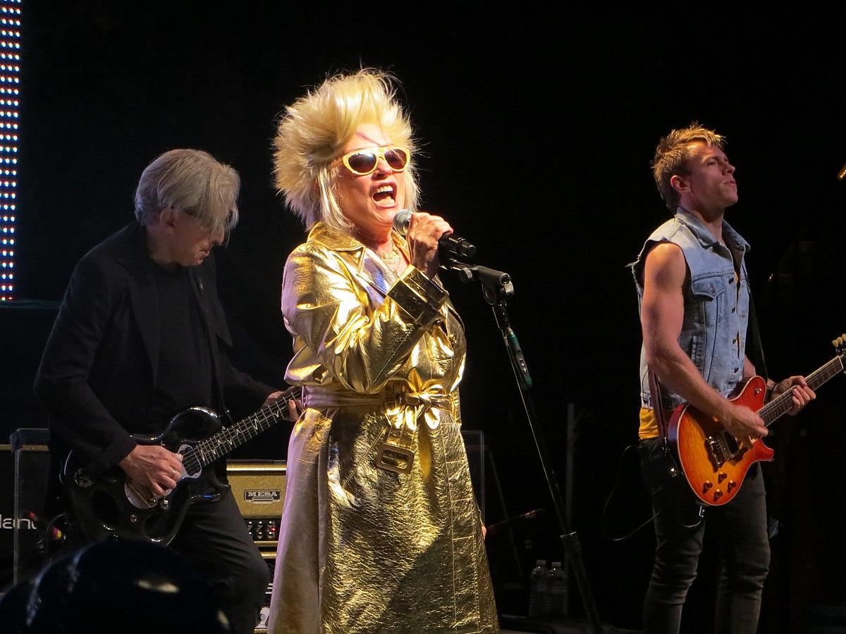 Blondie Garbage The Rage Rapture Tour