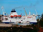 Bluefort arriving in Lahesuu sadam Tallinn 12 September 2016.jpg