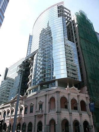 Banco Nacional Ultramarino - BNU Tower in Macau