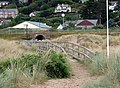 Boardwalk access to and from Aberdovey Beach - geograph.org.uk - 199942.jpg