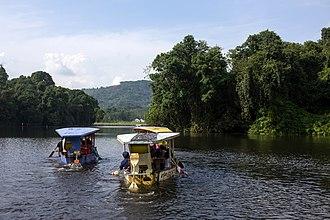 Ciamis Regency - Image: Boats on Situ Lengkong, Ciamis 2017 03 11 01