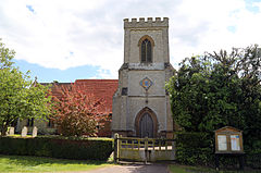 Bobbingworth, Essex, England - St Germain's Church exterior from the north.JPG