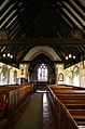 Bobbingworth, Essex, England - St Germain's Church interior - nave from west.JPG
