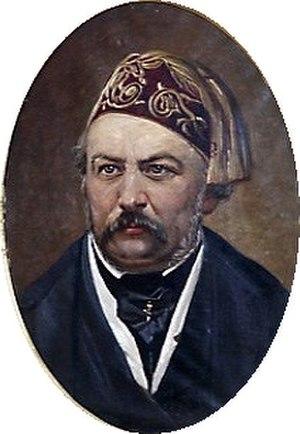 Nikolai Bodarevsky - Portrait of  Mikhail Glinka