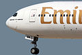 Boeing 777-31H ER Emirates A6-EBM (8707463462).jpg