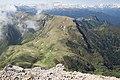 Bolshoy Tkhach, Adygea, Большой Тхач, вид на перевал, Адыгея.jpg