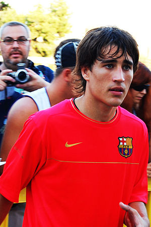 Bojan Krkić - Bojan with Barcelona in 2008