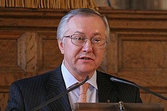 Minister of Foreign Affairs (Ukraine) - Image: Borys Tarasyuk 800px