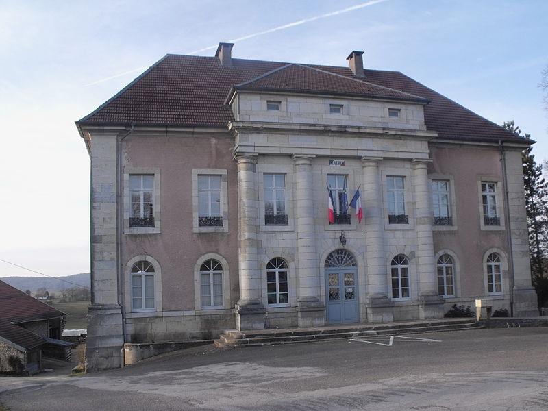 Mairie-école de Bouclans, Doubs, France