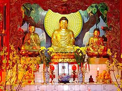 Bouddha de la pagode de Fréjus