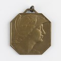 Bourse de Bruxelles - Comité de la Cote, medal by Pierre Theunis, Belgium, (1936), Coins and Medals Department of the Royal Library of Belgium, 2N141 - 4 (verso).jpg