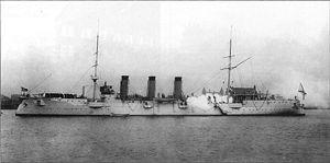 Russian cruiser Boyarin (1901) - Boyarin
