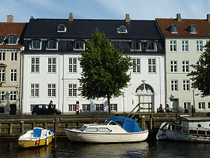 Thomas Potter (industrialist) - The Potter House in Christianshavn, Copenhagen