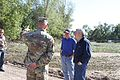 Branstad, Reynolds and Orr travel to northeast Iowa to visit areas affected by 2016 Cedar River flooding. 160926-Z-OB216-272.jpg