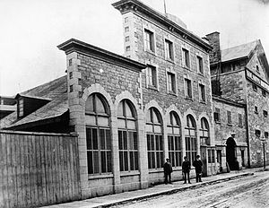 Molson Brewery - Molson Brewery, c. 1885