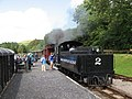 Brecon Mountain Railway, Pontsticill station - geograph.org.uk - 1451291.jpg