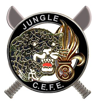 Jungle Training Center - Image: Brevet jungle