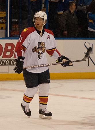 Florida Panthers - The Panthers acquired Brian Campbell during the 2011 off-season. Campbell played with the Panthers from 2011 to 2016.
