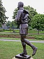 Brian Clough's statue, Albert park Middlesbrough - geograph.org.uk - 445932.jpg