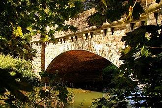Hinksey Stream - Bridge over Hinksey Stream.