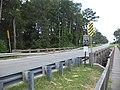 Bridge over Mill Creek feeding into Lake Irma, Lakeland.JPG
