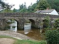 Bridge over the River Barle, Dulverton - geograph.org.uk - 1456748.jpg