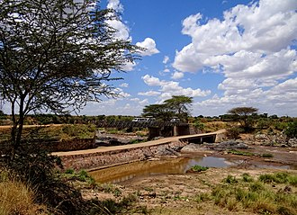 Mara River - Bridges on the border of Kenya and Tanzania