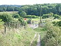 Bridleway crossing of the North Downs line - geograph.org.uk - 56862.jpg