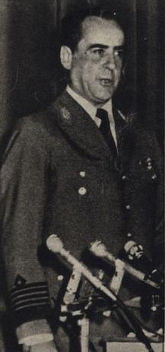 Orlando Ramón Agosti - Orlando Ramón Agosti in 1976