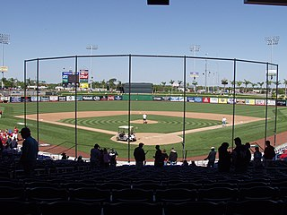 Spectrum Field baseball stadium in Clearwater, Florida, United States