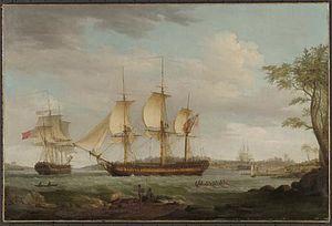 Britannia (1783 whaler) - Image: Britannia whaler