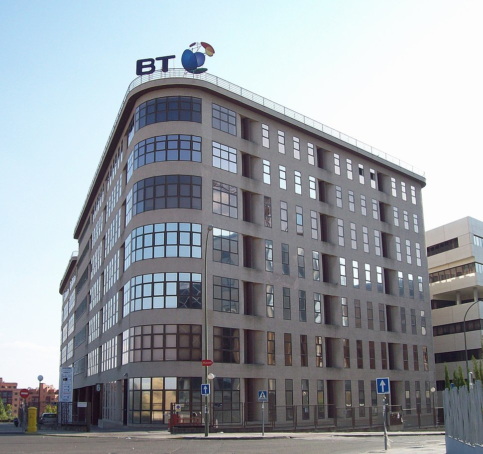 British Telecom offices in Madrid (Spain) 01