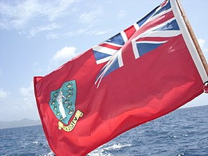 The BVI sailing flag