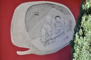 Graffiti in Písečník