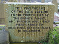 Bronte Commemorative Tablet Haworth Church, Main Street 1.jpg