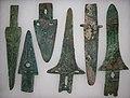 Bronze Ge Dagger-axes or Kui (10625220945).jpg