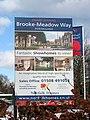 Brooke-Meadow Way (sign) - geograph.org.uk - 1655005.jpg