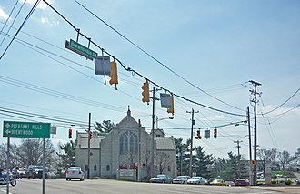 Brentwood, Pennsylvania - Brownsville Road and Clairton Boulevard