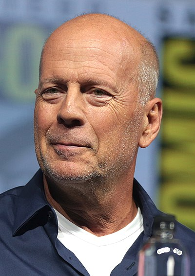 Bruce Willis, American actor, producer, and musician