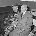 Bruidspaar Ruts de Keizer 82 en 84 jaar te Amsterdam getrouwd, Bestanddeelnr 915-3536.jpg