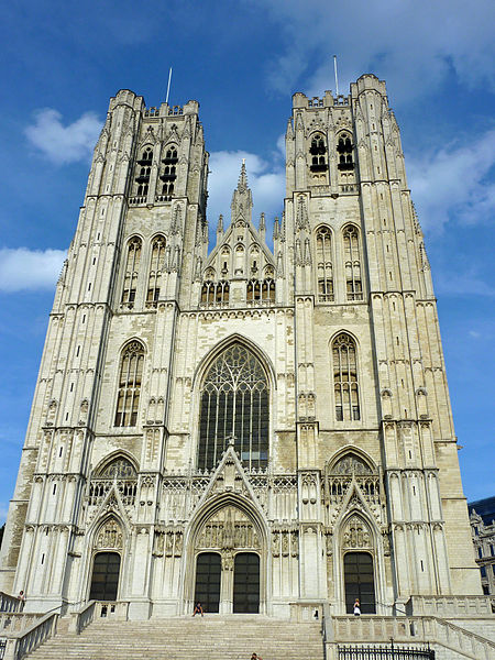 The Cathedral of St. Michael and St. Gudula, Brussels